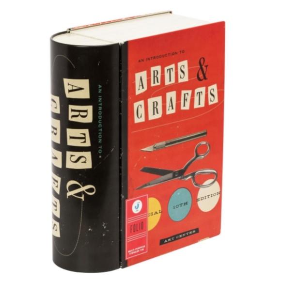 Arts & Crafts Book Storage Tin